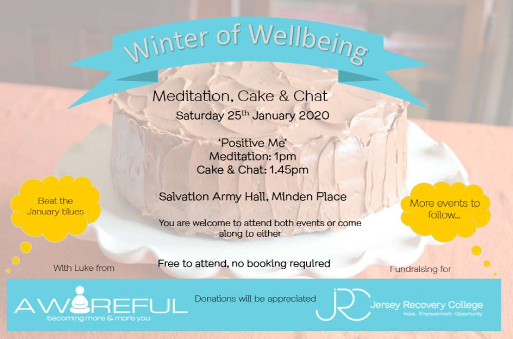 Winter of Wellbeing Meditation Cake and Chat