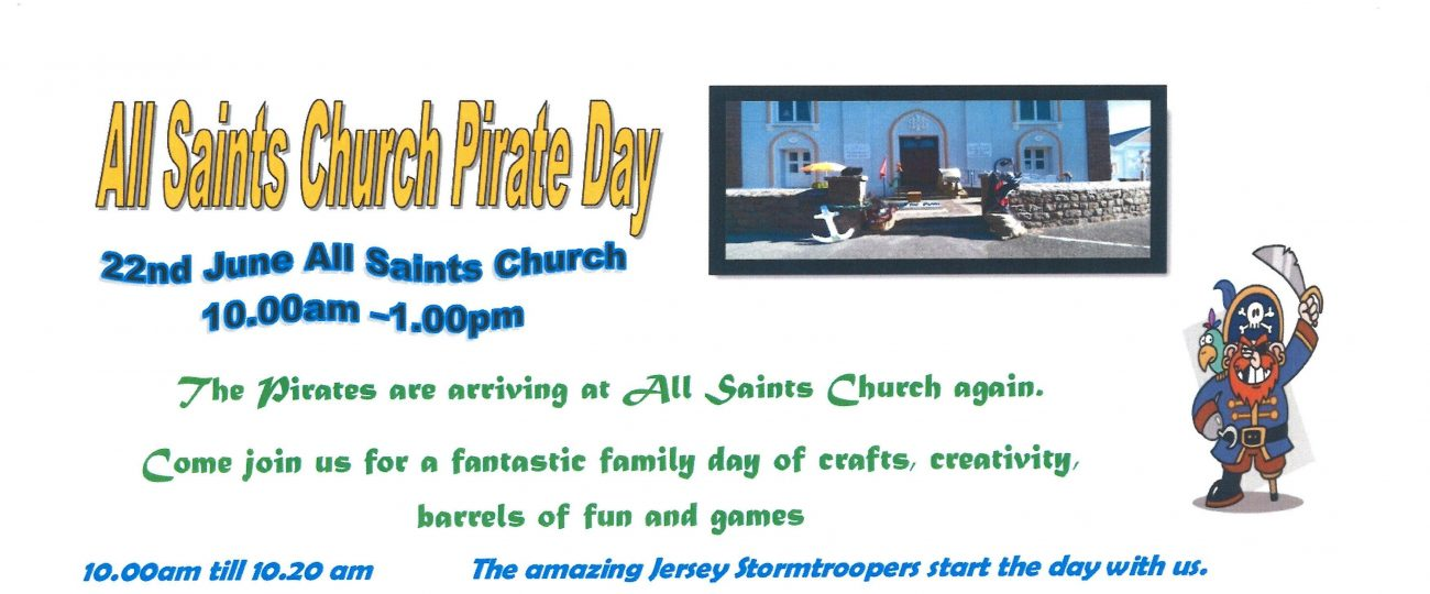 All Saints Pirate Day
