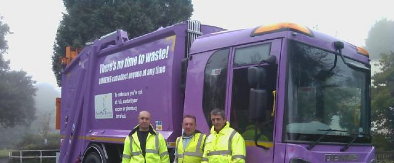 New Diabetes truck launched Oct 2012